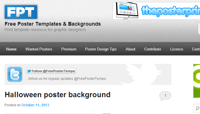 Free Poster Templates