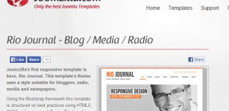 Great Joomla Radio Station Templates