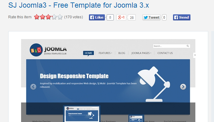 SJ Joomla 3