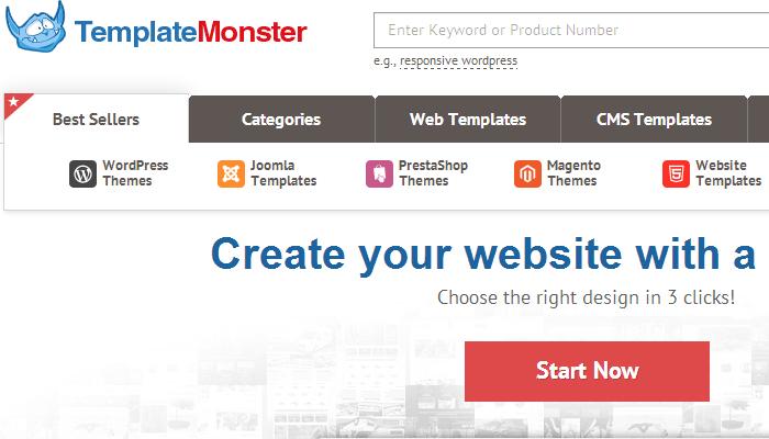 Free Magento 19 Template Web Templates Template Monster - mandegar.info