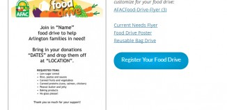 5 Canned Food Drive Flyer Templates