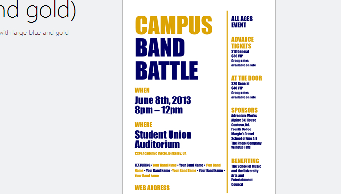talent show ticket template .