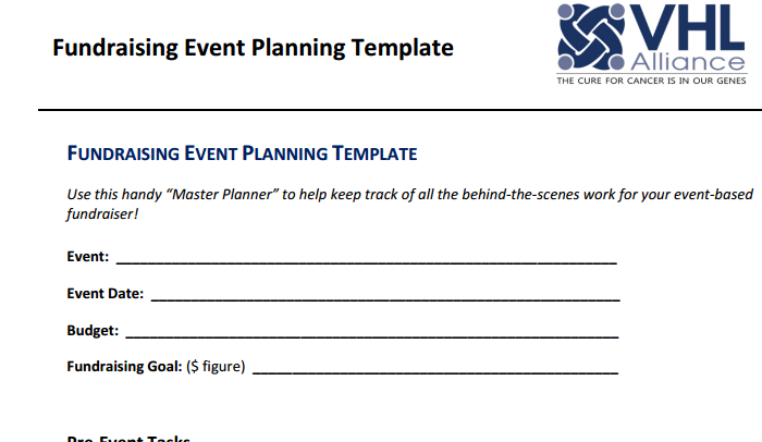 Doc585600 Fundraising Plan Template 11 Fundraising Plan – Template for Fundraiser
