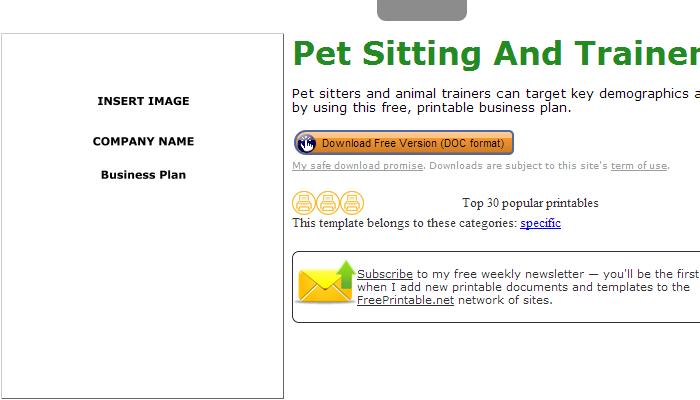 4 Free Dog Walking Flyer Templates | AF Templates businessplantemplate