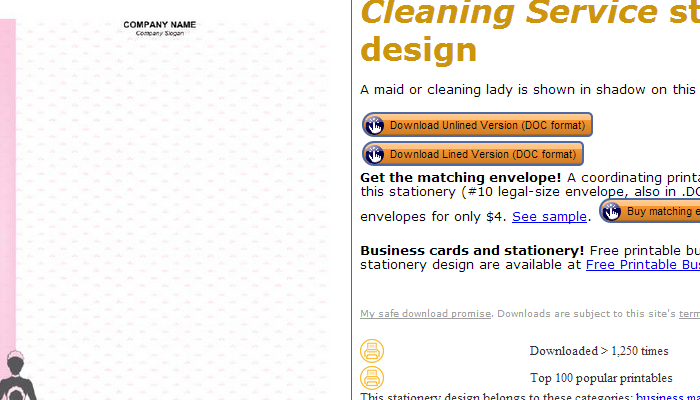 Cleaning service brochure template reheart Image collections