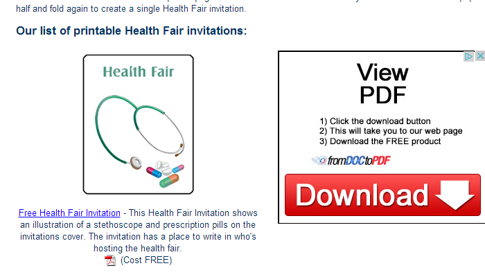 free health flyer templates Kenicandlecomfortzonecom
