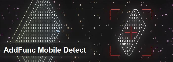 AddFunc Mobile Detect
