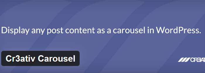 Cr3ativ Carousel