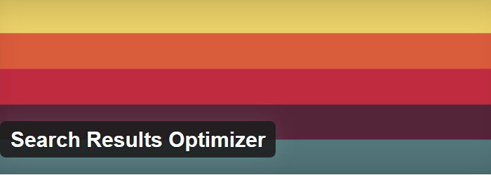 Search Results Optimizer