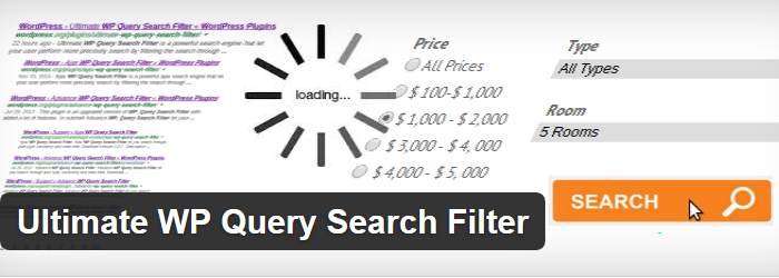 Ultimate WP Query Search Filter