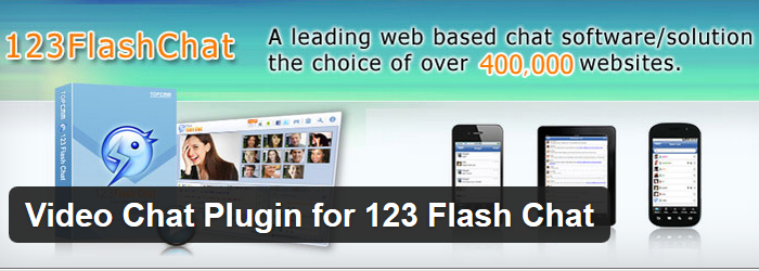 Video Chat Plugin for 123 Flash Chat