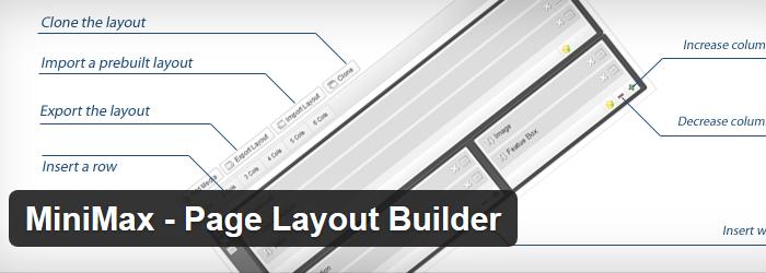MiniMax - Page Layout Builder