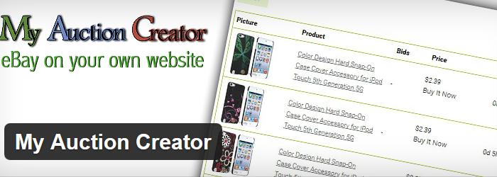 My Auction Creator
