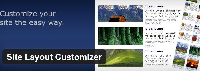 Site Layout Customizer