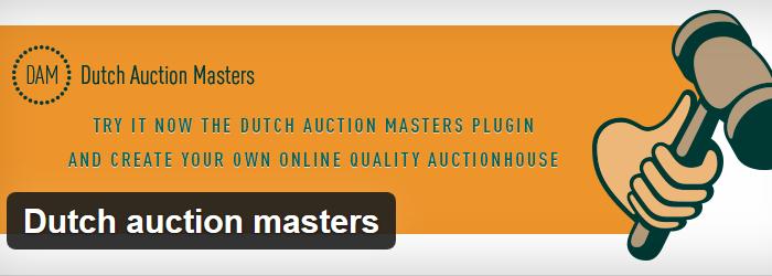 WordPress Dutch Auction Masters plugin