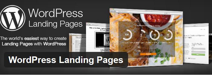 WordPress Landing Pages