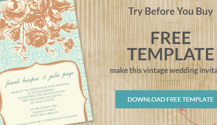 7 Indesign Invitation Template Af Templates