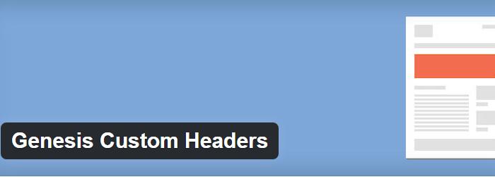 Genesis Custom Headers