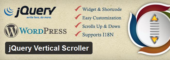 jQuery Vertical Scroller