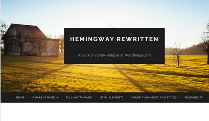 Hemingway Rewritten