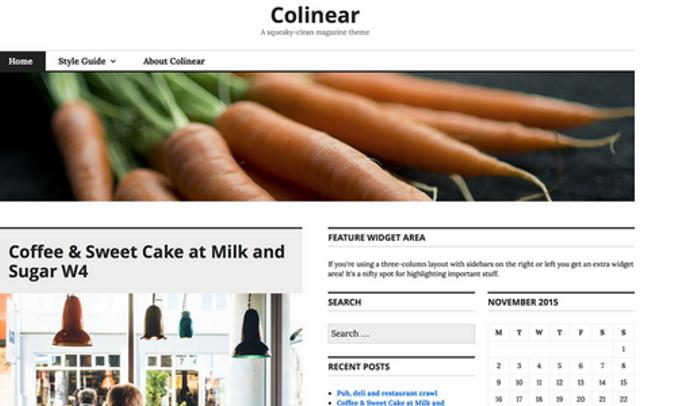 Colinear
