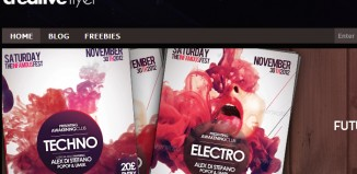 Awesome Free PSD Club Flyer Templates