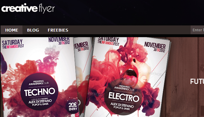Awesome Free PSD Club Flyer Templates | AF Templates