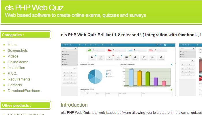 Els PHP Web Quiz