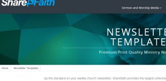 Exceptional Missionary Newsletter Templates