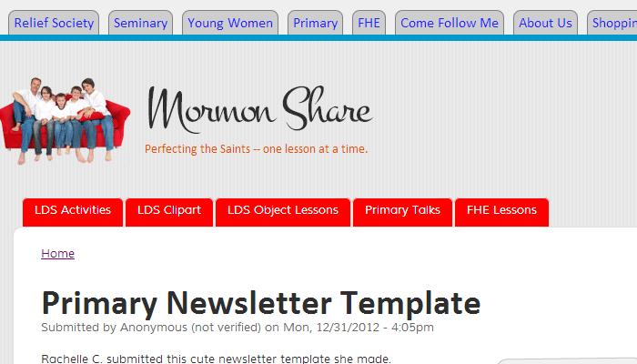 Mormon Share