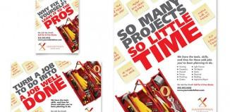 5 Handyman Flyer Templates