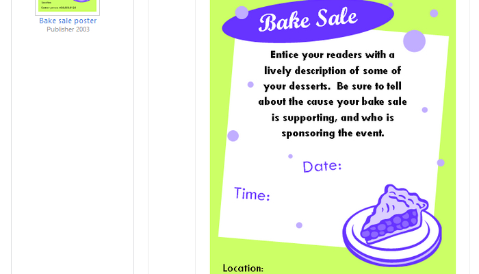 Free Bake Sale Flyer Templates  Af Templates