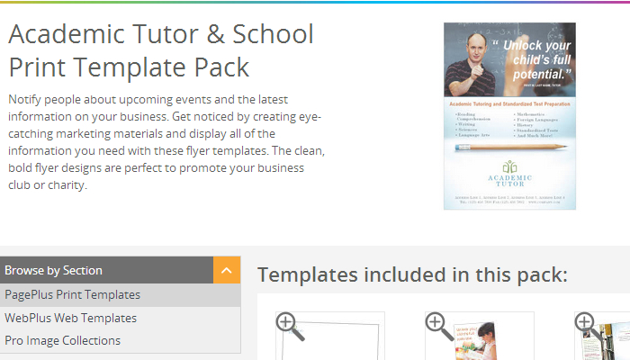 4 Tutoring Flyer Templates Af Templates