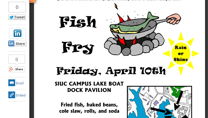 5 Fish Fry Flyer Templates