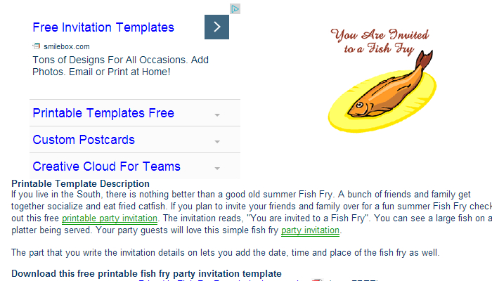 5 Fish Fry Flyer Templates Af Templates
