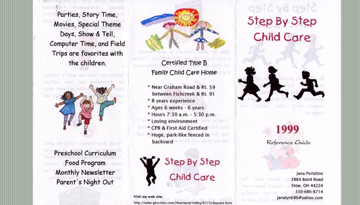 5 daycare flyers templates af templates for Childcare newsletter templates