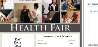 3 Health Fair Flyer Templates