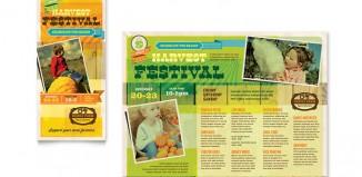 4 Fall Festival Flyer Templates