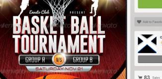 5 Basketball Camp Flyer Templates