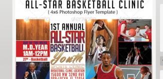 5 Basketball Tournament Flyer Templates