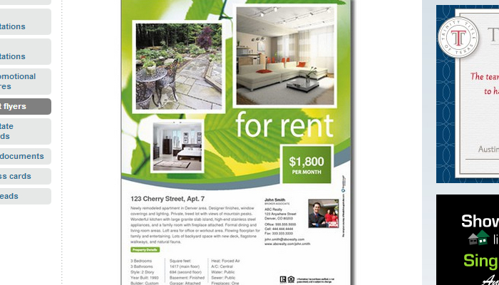 5 House for Rent Flyer Templates – House for Rent Template