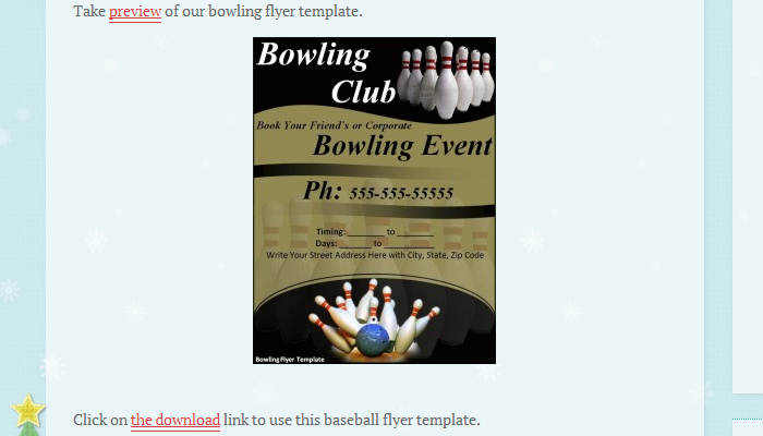 Bowling Fundraiser Flyer Templates  Af Templates