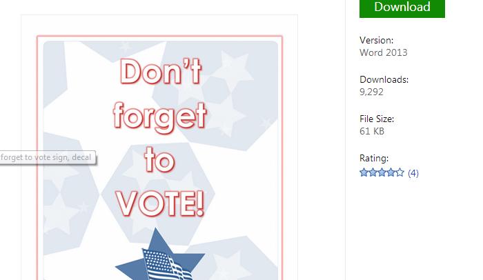 5 election flyer templates af templates