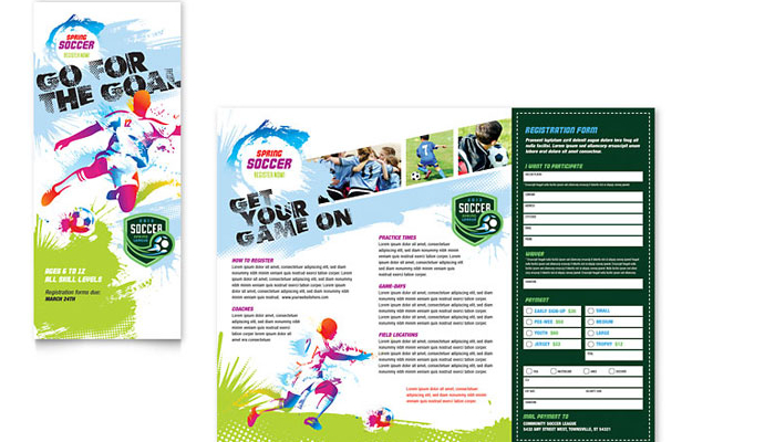 Summer Camp Flyer Templates AF Templates - Summer camp brochure template