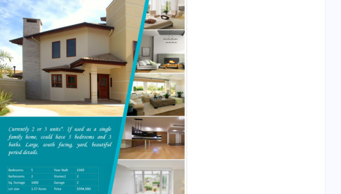 6 commercial real estate flyer templates af templates