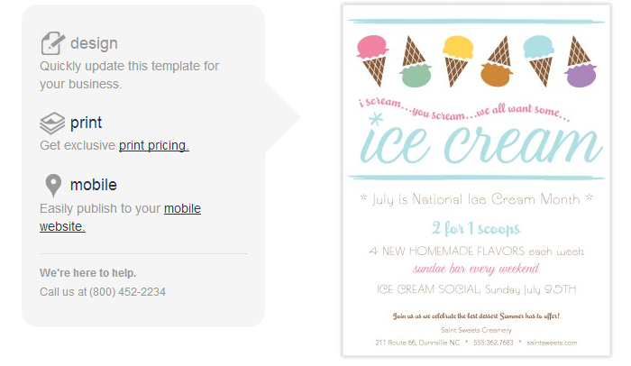 4 Ice Cream Social Flyer Templates | AF Templates