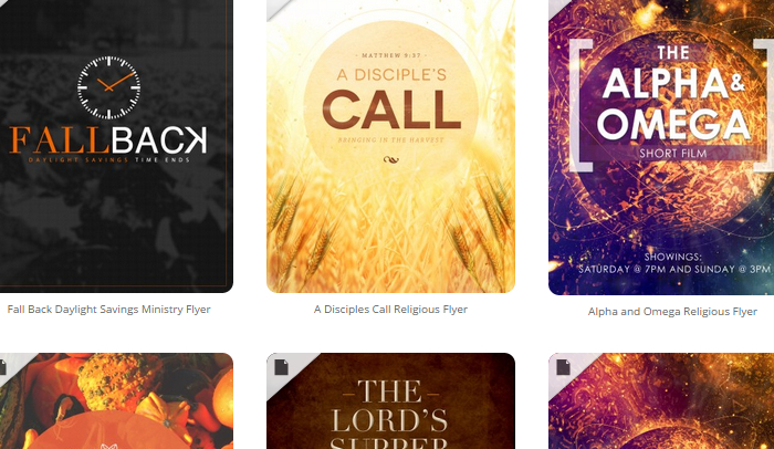 5 Free Church Flyer Templates | AF Templates