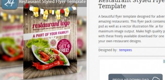 6 Free Promotional Flyer Templates
