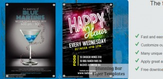 5 Free Bar Flyer Templates