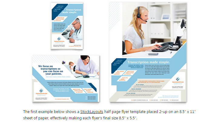 6 Half Page Flyer Template – Half Page Flyer Template